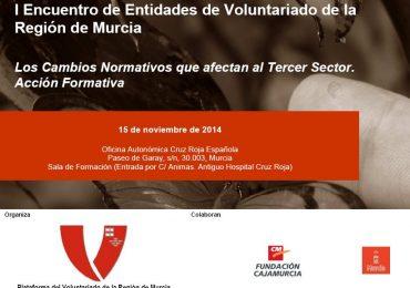 I Encuentro de Entidades de Voluntariado de la Región de Murcia