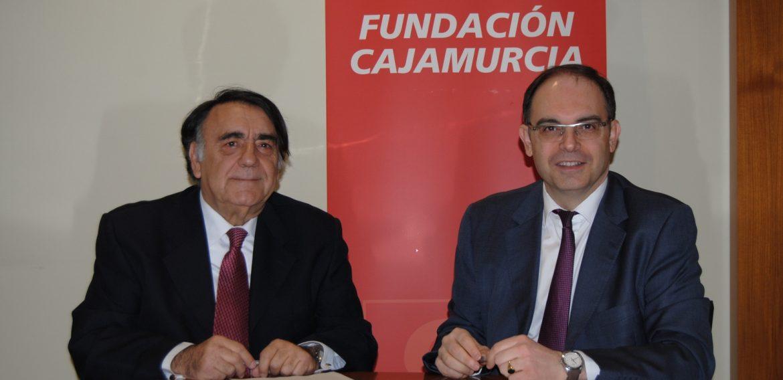 La Fundación Cajamurcia renueva su colaboración con la Real Sociedad Económica de Amigos del País de Murcia