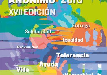 XVII Premio al Solidario Anónimo