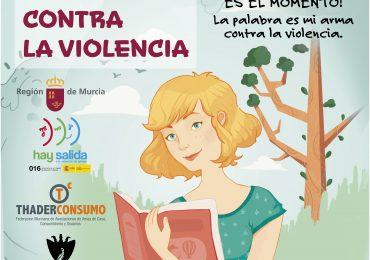 """II Concurso de Poesía y Relato Corto: """"Educando contra la violencia""""."""