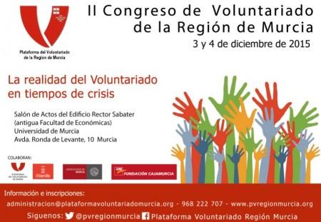 II Congreso de Voluntariado de la Región de Murcia