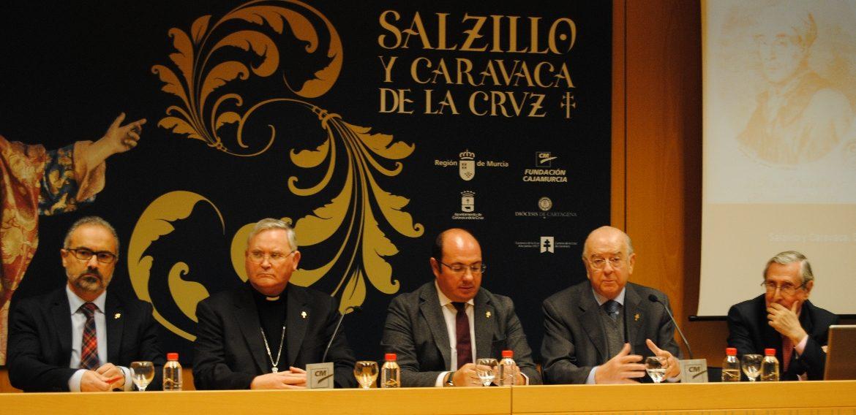 CARAVACA BUCEA EN LA ESCUELA DE SALZILLO Y DARÁ LUZ A SUS DISCÍPULOS