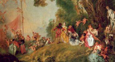 Cuadros con música XXI: Watteau y Mozart