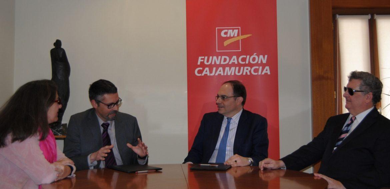 LA FUNDACIÓN CAJAMURCIA COLABORA CON LA ONCE EN EL FOMENTO DEL DEPORTE ADAPTADO