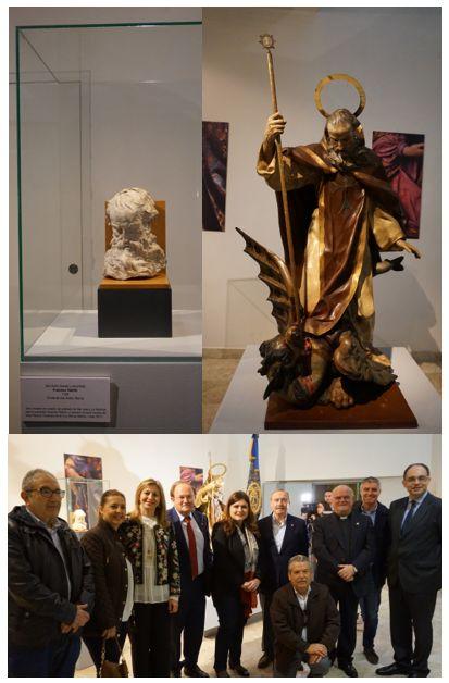 Presentación escultura de San Antón