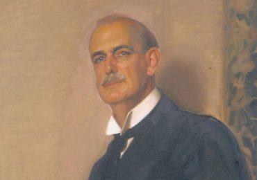 El retrato de Huntington, fundador de la Hispanic Society of America, estuvo en el Centro Cultural Las Claras