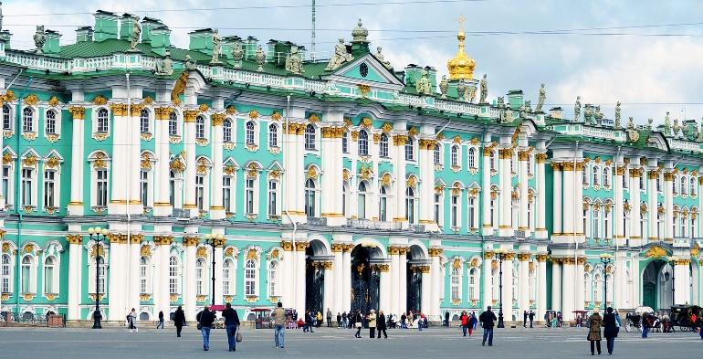 El Museo Hermitage De San Petersburgo Rusia Fundacion Cajamurcia