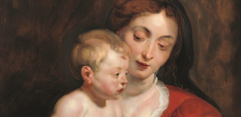 """Virgen de Cumberland"", de Pedro Pablo Rubens"