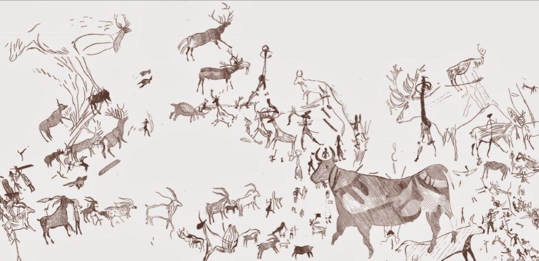 Las pinturas rupestres de Minateda en Hellín
