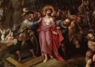 Jesús despojado de sus vestiduras, Frans Francken II
