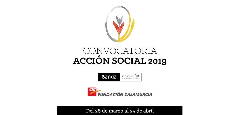 Bankia y Fundación Cajamurcia convocan ayudas para proyectos de acción social en la Región