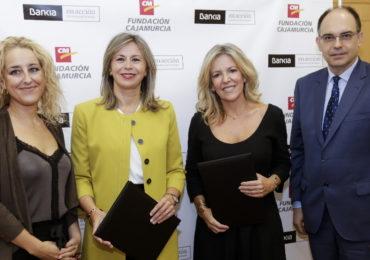 Bankia y Fundación Cajamurcia apoyan a la Asociación Locura por Vivir