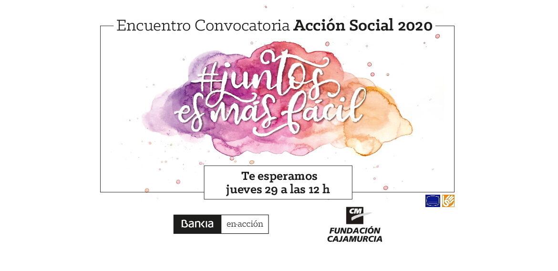 Encuentro Convocatoria de Acción Social 2020
