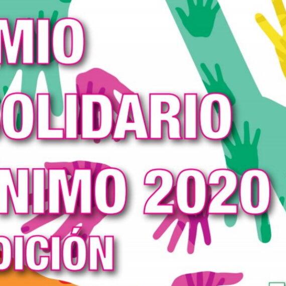 XXI Edición del Premio al Solidario Anónimo
