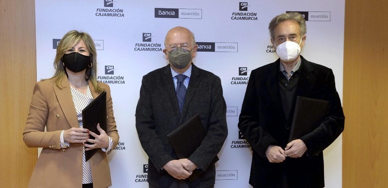 Bankia y Fundación Cajamurcia renuevan su apoyo a la Fundación Pedro Cano