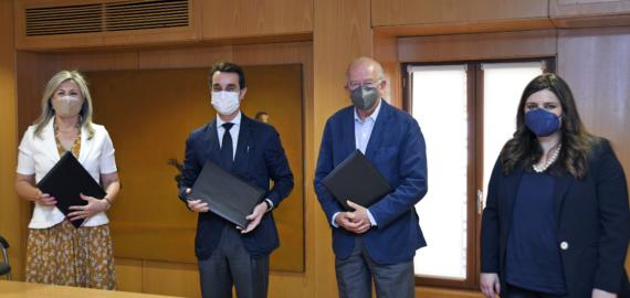 Fundación Cajamurcia y CaixaBank renuevan su compromiso con el Museo Salzillo